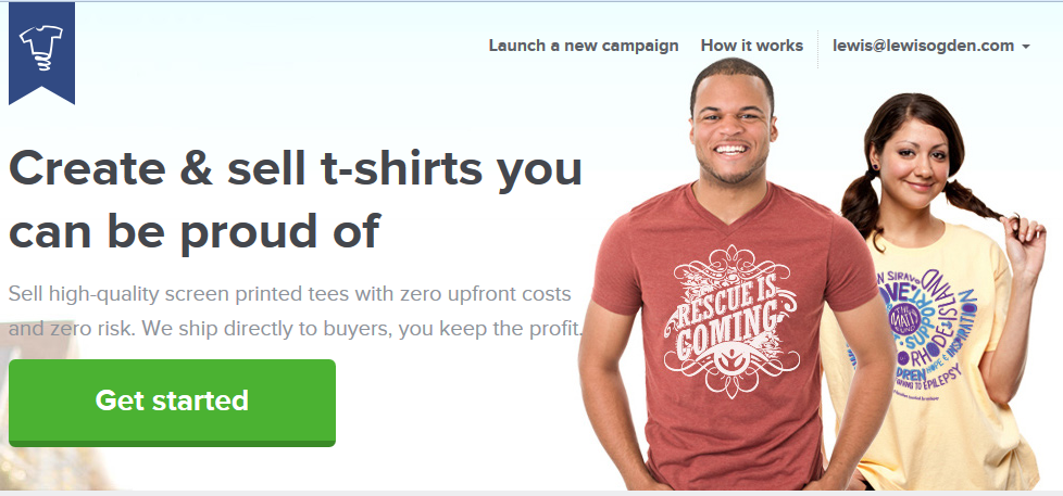 Case study how i made 400 with facebook ads in one week for How to design and sell t shirts